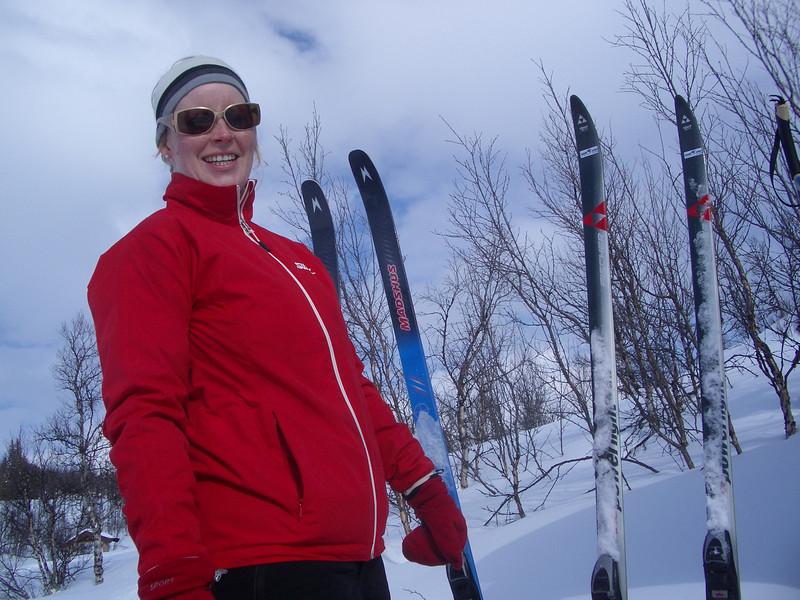 Ut på ski - like blid!