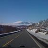 2. påskedag, dagen man som regel bruker på å kjøre bil og pakke inn/ut, er tradisjonen tro en solrik og fin dag. Her er vi på vei hjemover mot Trondheim, i dette øyeblikk over Dovrefjell rett nord for Hjerkinn.