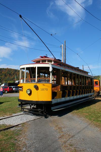 Trolley #1875 - Outside