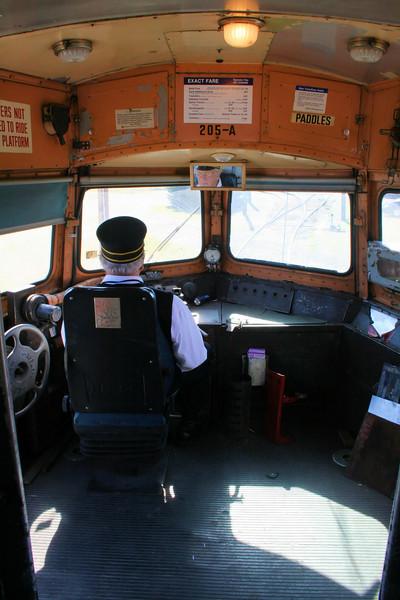 Trolley #205 - Inside the Philledelphia Bullet
