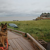 Another view of Ginger at the landing at Victoria-by-the-Sea, PEI.