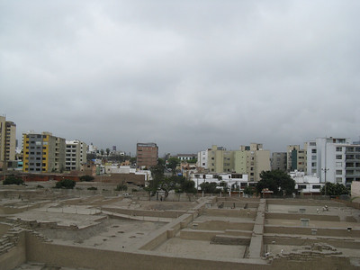 Another view from the top of Huaca Pucllana