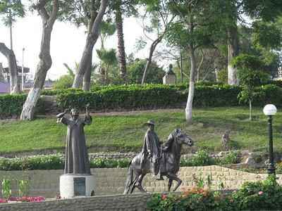Parque Chabuca Granda in Barranco, Lima.