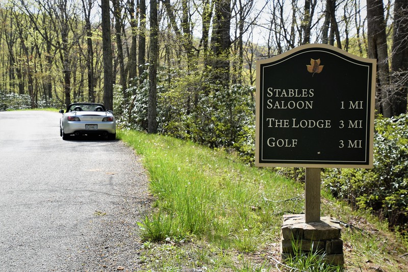 After passing through the gated resort you have 3 miles to the lodge.