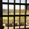 View from inside of Lodge with exposure on 10th hole. ..I've worked up an appetite for Elements. Primland's refined dinning room.