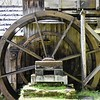 Yes, the water wheel is in working order.