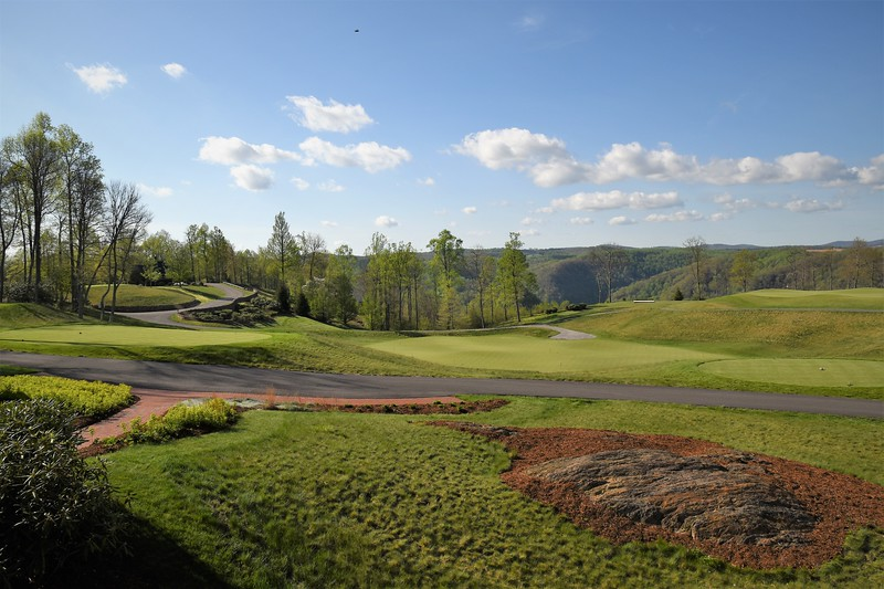 In June Primland commemorated a milestone anniversary.: 10 years of the Highland Golf Course. Designed by architect Donald Steele, the Highland course is ranked #31 in the country by Golf Digest for its sweeping landscapes, challenging slopes, and the unparalleled experience it offers golfers.