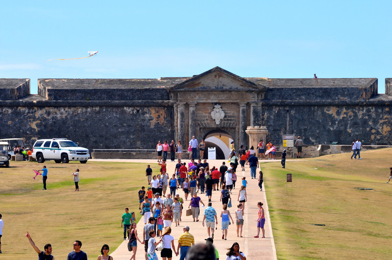 EL MORRO MAIN ENTRANCE