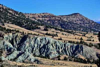 Interesting hills, eastern Oregon.