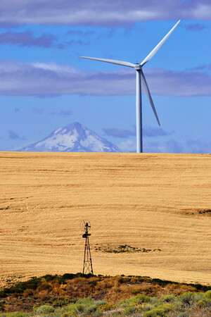Old and new, eastern Oregon.