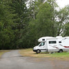 Camping on Lake Quinault.
