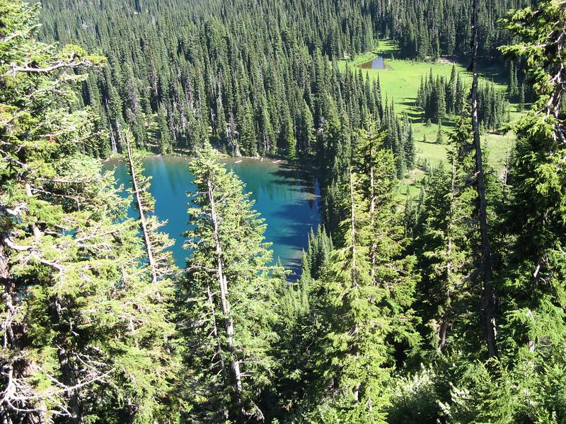 Mount Rainier National Park. This is Sunrise Lake.