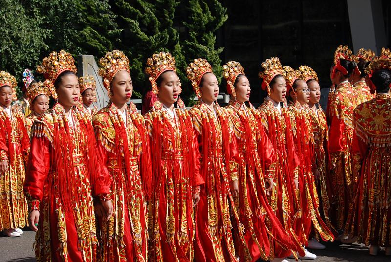 Chinese Drill Team, SeaFair Parade