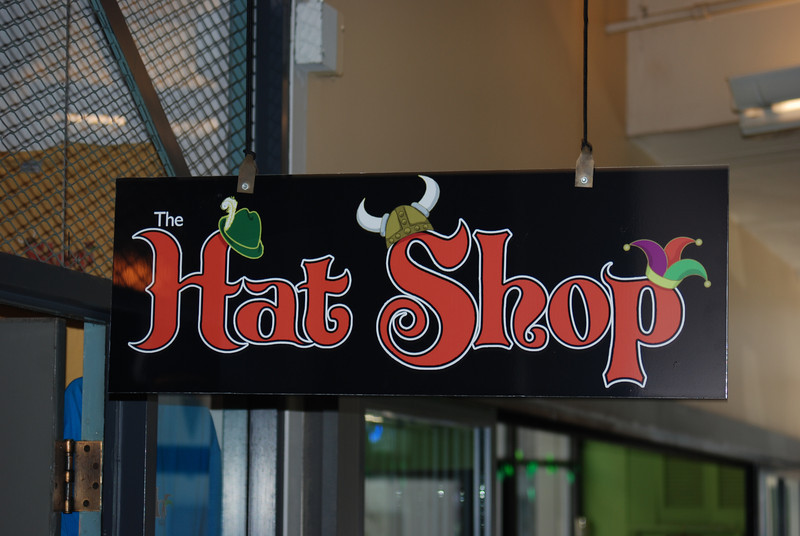Hat Shop at Market mall