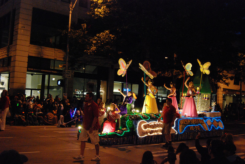 Torchlight Parade goes into the night