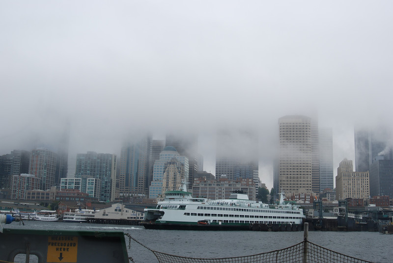 Victoria in clouds