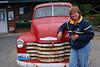 Bella's Truck at Forks, WA