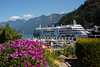 Cruise ship in Horseshoe Bay