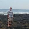 At the beach near Puuhonua historic site.