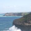 Coastal bluffs near Kilauea Lighthouse, Kauai