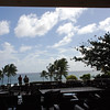 View from the back deck of the Grand Hyatt Hotel, Lihue, Kauaii