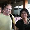 Walker and Yoshiko in Papeete airport.