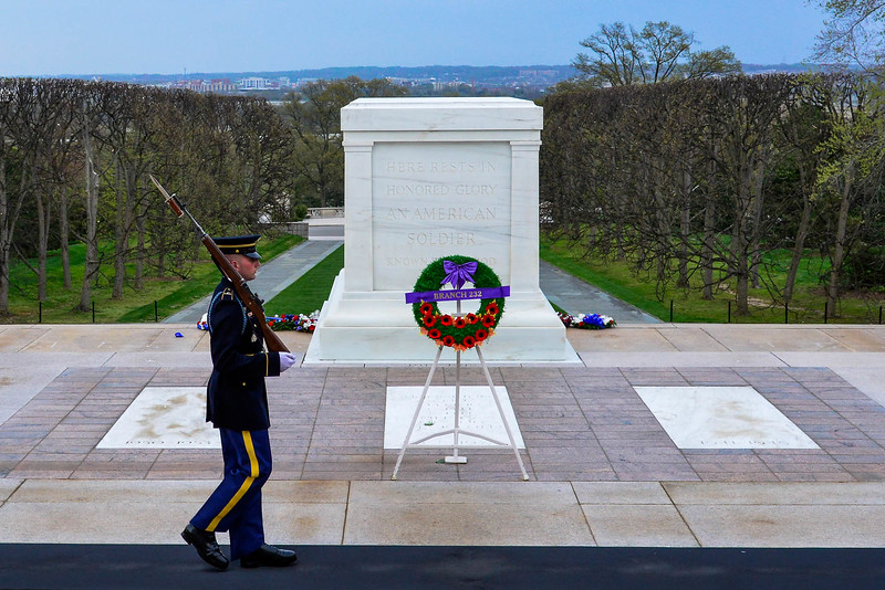 Tomb of the Unknown Soldier…known only to God.