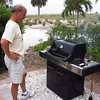 <h2>Vince cooking the steaks for dinner.  We ate a lot<h2>