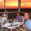 <h2>Shrimp risotto and sunset<h2>