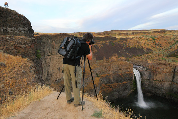 Mike at Palouse Falls