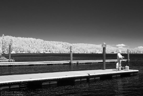 Mica Bay - Lake Coeur d'Alene, Infrared