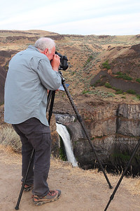 Randy at Palouse Falls