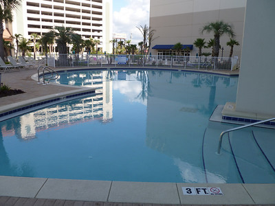 One of the main floor pools.