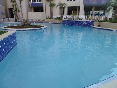 Main floor pool.