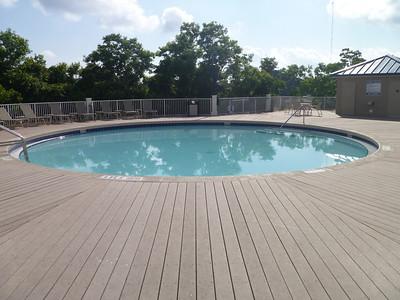 Island pool.