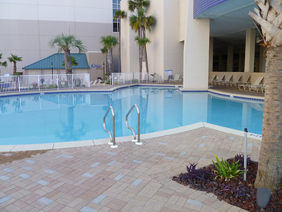 Another view of one of the main floor pools.