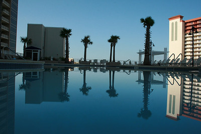 The 10th floor pool.