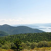 From Buck Mountain looking at Lake George<br /> Adirondacks, New York<br /> August 25, 2009