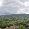 View from Torre Grossa<br /> San Gimignano, Italy<br /> June 19, 2010