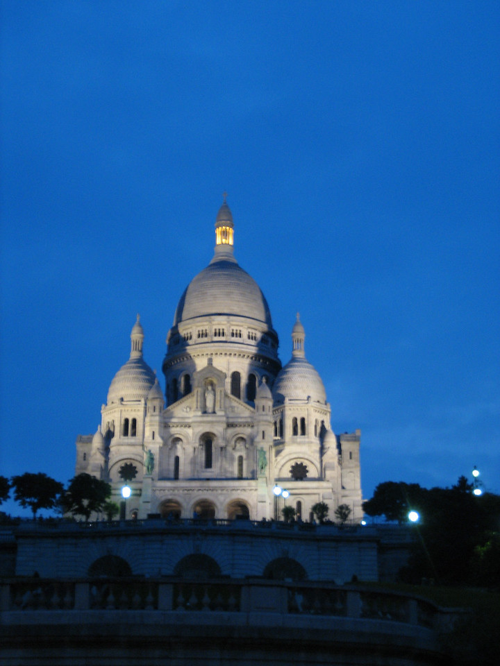 The Sacre Coeur church