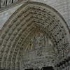 Notre Dame door opening top