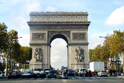 Arc Triomphe, Champs Elysees 2005