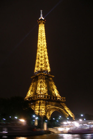 La Tour Eiffel and Paris at Night 2005