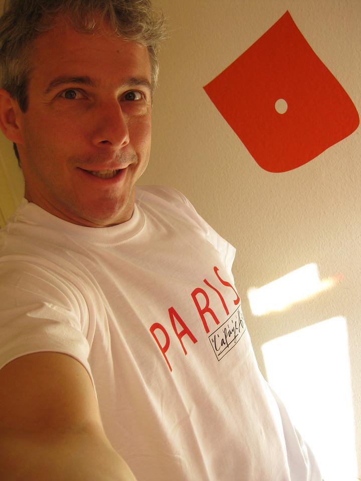 Paris T-shirt I got at Gallerie Lafayette