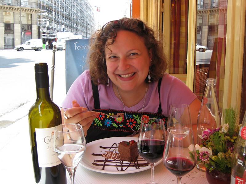 Faith and fondant de chocolat