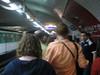 Navigating the Metro at rush hour