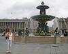 Janet near La Place de Concorde