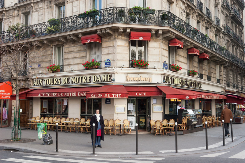 Cool Cafe near Notre Dame