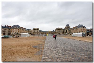 Day 6 - Last day in Paris, we visit Versaille