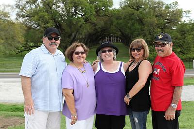 Partner & family in LA -  Mar 2012